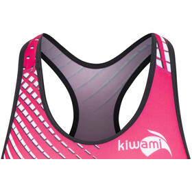 KiWAMi Prima Openback Suit Women black/pink